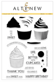 Altenew Layered Cupcake Stamps Set