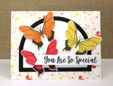 MFT You Give Me Butterflies Stamp Set
