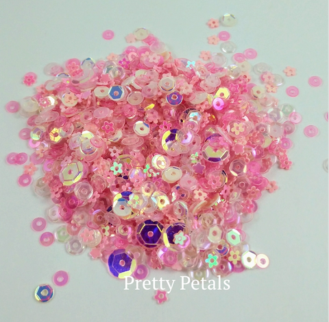 Pretty Petals Sequin-tials