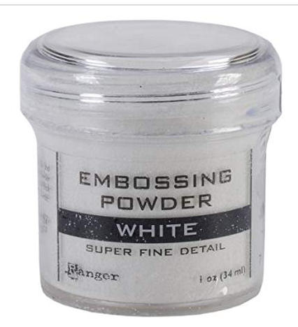 Ranger Super Fine Detail White Embossing Powder