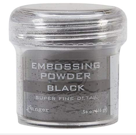 Ranger Super Fine Detail Black Embossing Powder