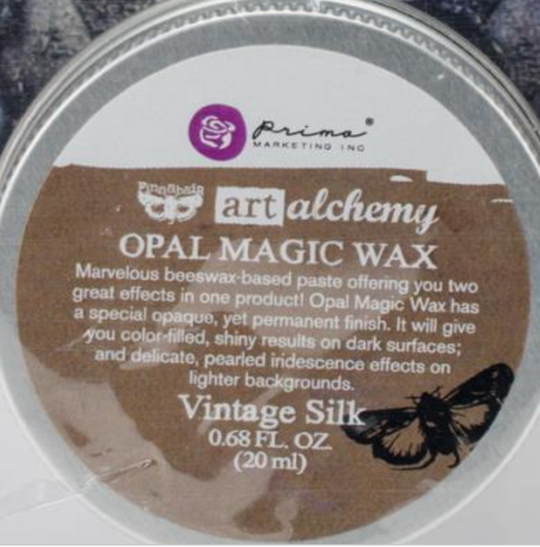 Finnabair Art Alchemy Opal Magic Wax - Vintage Silk