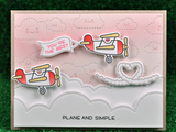 Lawn Fawn Plane and Simple Stamp Set