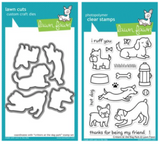 Lawn Fawn Critters in the Park STAMPS & DIES BUNDLE