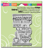 Stampendous Share Coffee Stamp