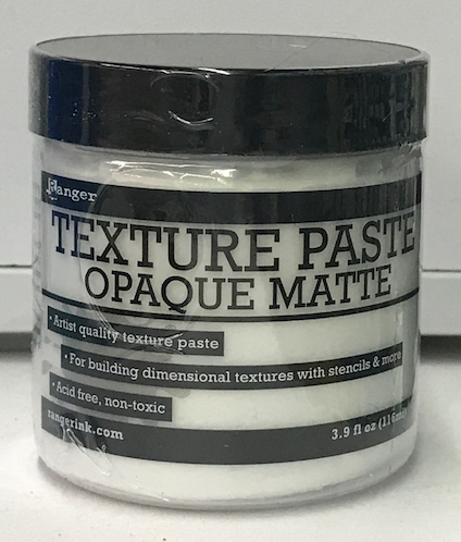 Ranger White (Opaque) Texture Paste