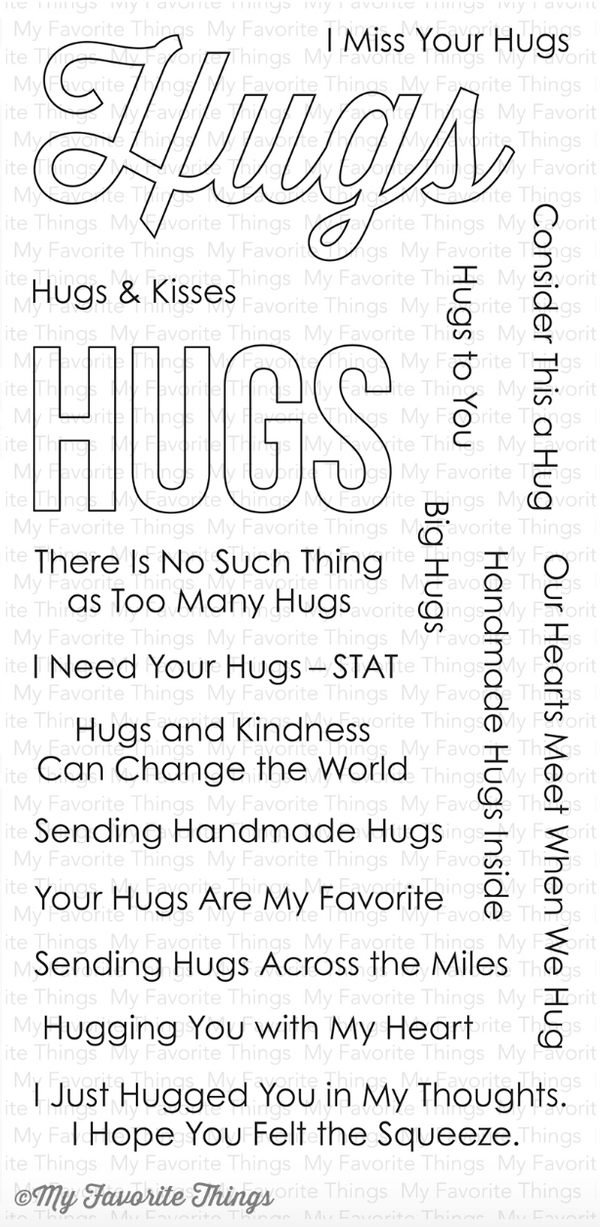 MFT Lots of Hugs Stamp Set