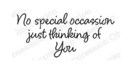 Impression Obsession Thinking of you Stamp