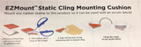 "EZ Mount Mounting Foam (one sheet 8.5"" x 11"")"