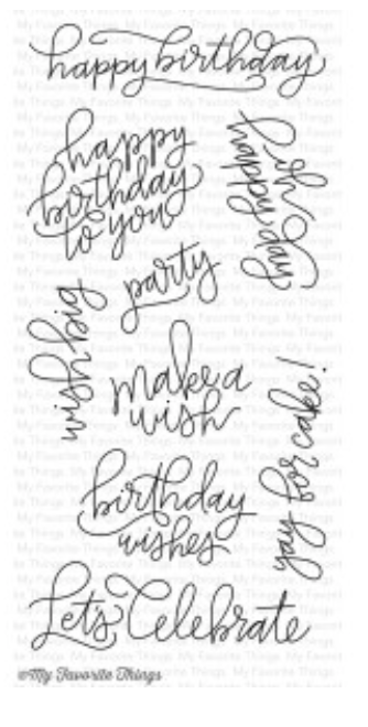 MFT Handwritten Happiness Stamp Set