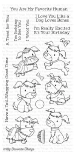 MFT Puppy Pals Stamp Set