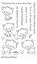 MFT Smitten Kitten Stamp Set