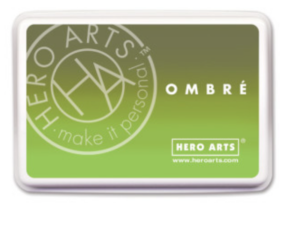 Hero Arts Ombre Lime to Forever Inkpad