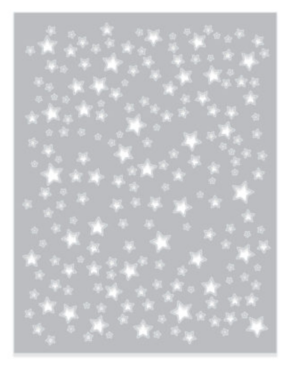 Hero Arts Star Confetti Fancy die