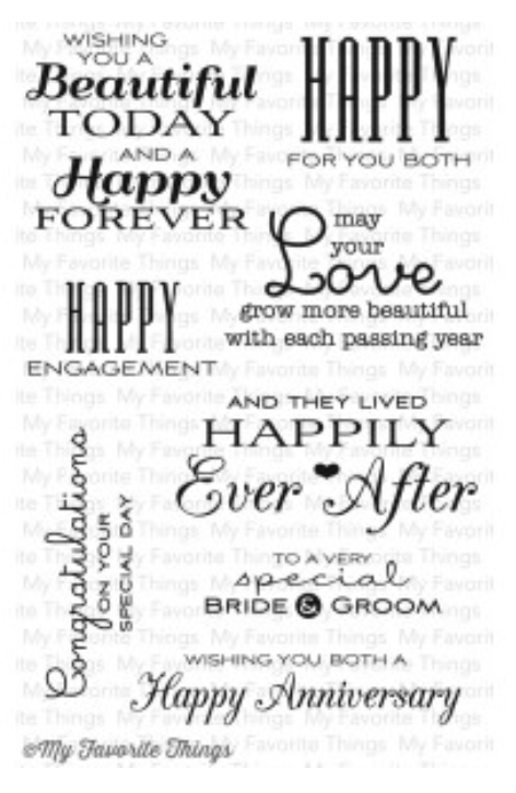 MFT Together Forever Stamp Set