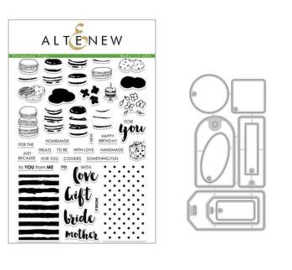 Altenew Handmade Tags Stamps & Dies Set