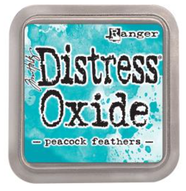 Tim Hotz Distress Oxide - Peacock Feathers Ink pad
