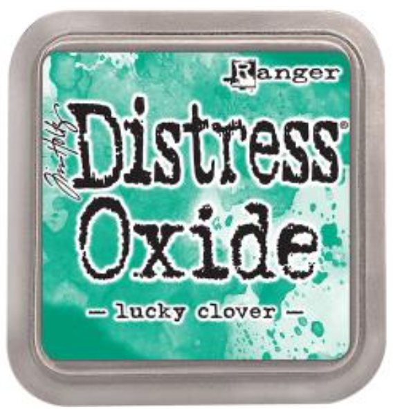 Tim Hotz Distress Oxide - Lucky Clover Ink pad