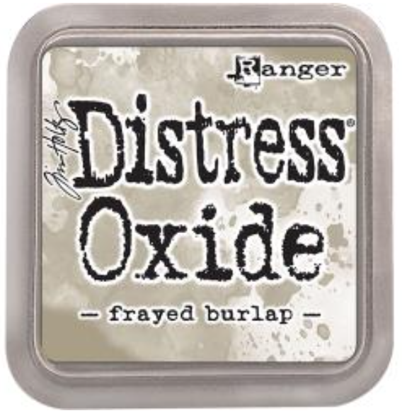 Tim Hotz Distress Oxide - Frayed Burlap Ink pad