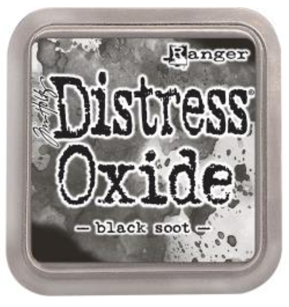Tim Hotz Distress Oxide - Black Soot Ink pad