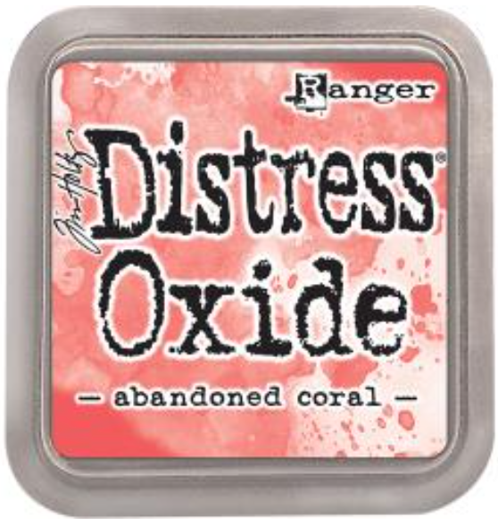 Tim Hotz Distress Oxide - Abandoned Coral Inkpad