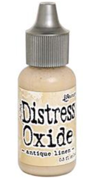 Tim Hotz Distress Oxide - Antique linen Re-Inker .5 oz