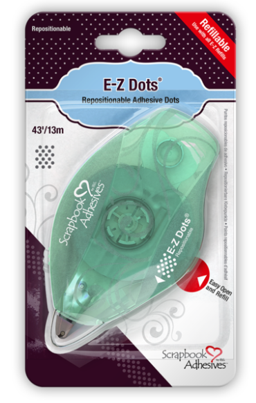 E-Z Repositionable Adhesive Dots (temporary/removable)