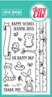 Avery Elle Woodland Wonders Clear Stamp Set