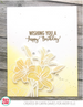 Avery Elle Spring Bouquet Clear Stamp Set