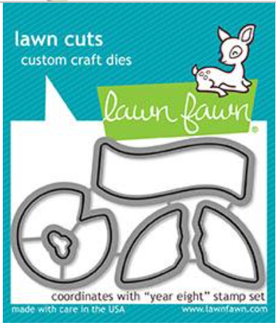 Lawn Fawn Year Eight Die Set