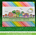 Lawn Fawn Really rainbow 6 x 6 paper pad  (36 pages)