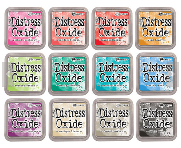 Tim Holtz  Distress Oxide 12 ink pads (July '17)
