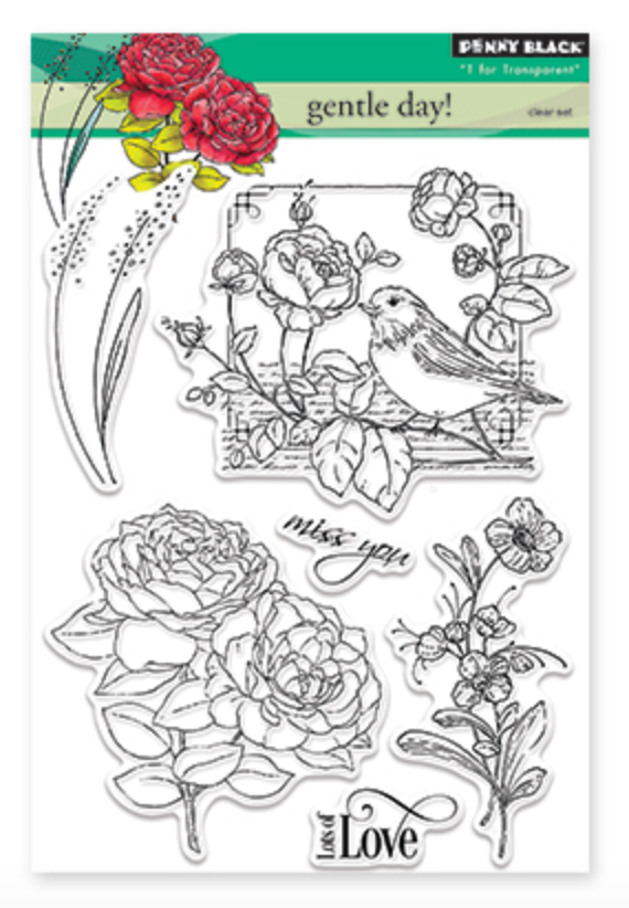 Penny Black Gentle Day Stamp Set