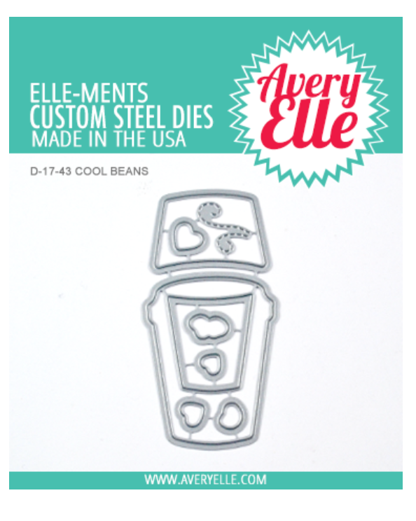 Avery Elle Cool Beans die set