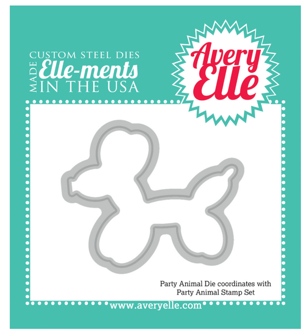 Avery Elle Party Animal Elle-ments die set