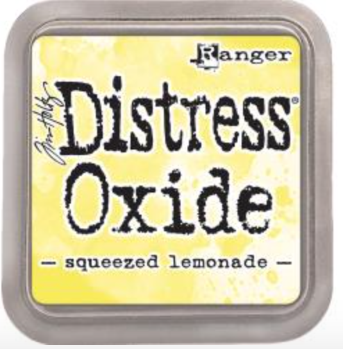 Tim Hotz Distress Oxide - Squeezed Lemonade Inkpad