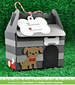 Lawn Fawn Scalloped Treat Box Dog House Add-on Dies