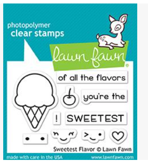 Lawn Fawn Sweetest Flavor Stamps