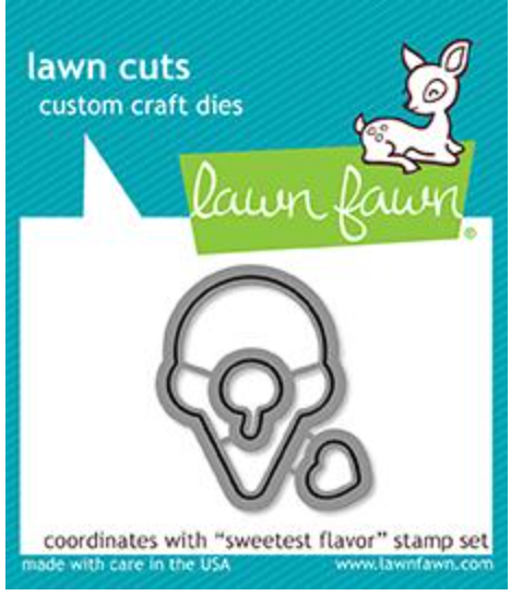 Lawn Fawn Sweetest Flavor dies