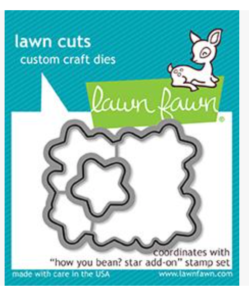 Lawn Fawn Have you Bean? Star Add-on die Set