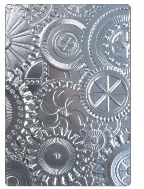 Sizzix 3-D  Embossing  Fades Folder Mechanics A2