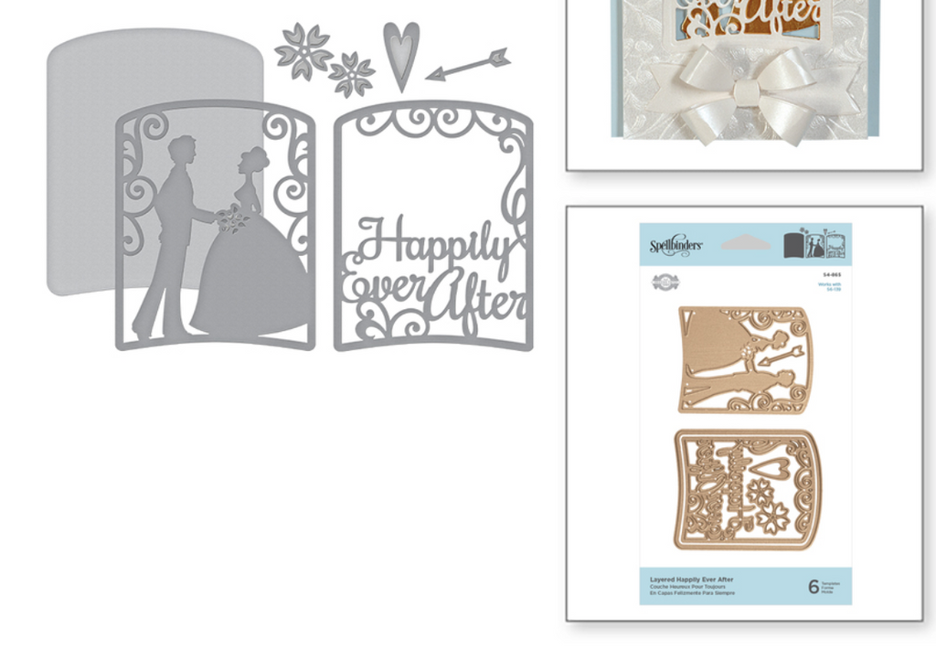 Spellbinders Layered Happily Ever After Die Set
