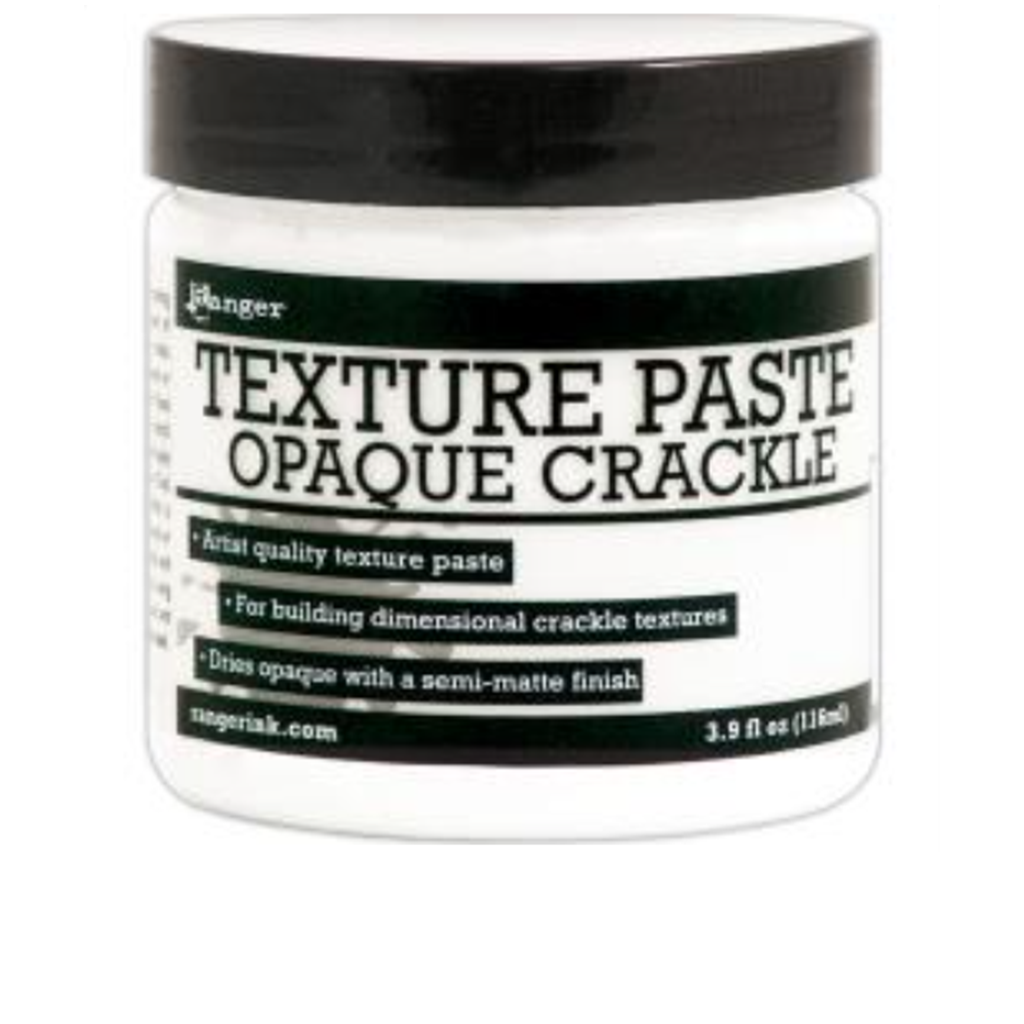 Ranger Texture Paste Opaque Crackle 4 oz