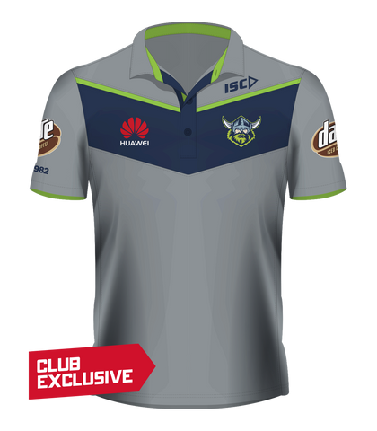 2017 Raiders Players' Polo / Grey / ADULT