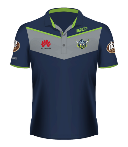 2017 Raiders Players' Media Polo / Navy / LADIES