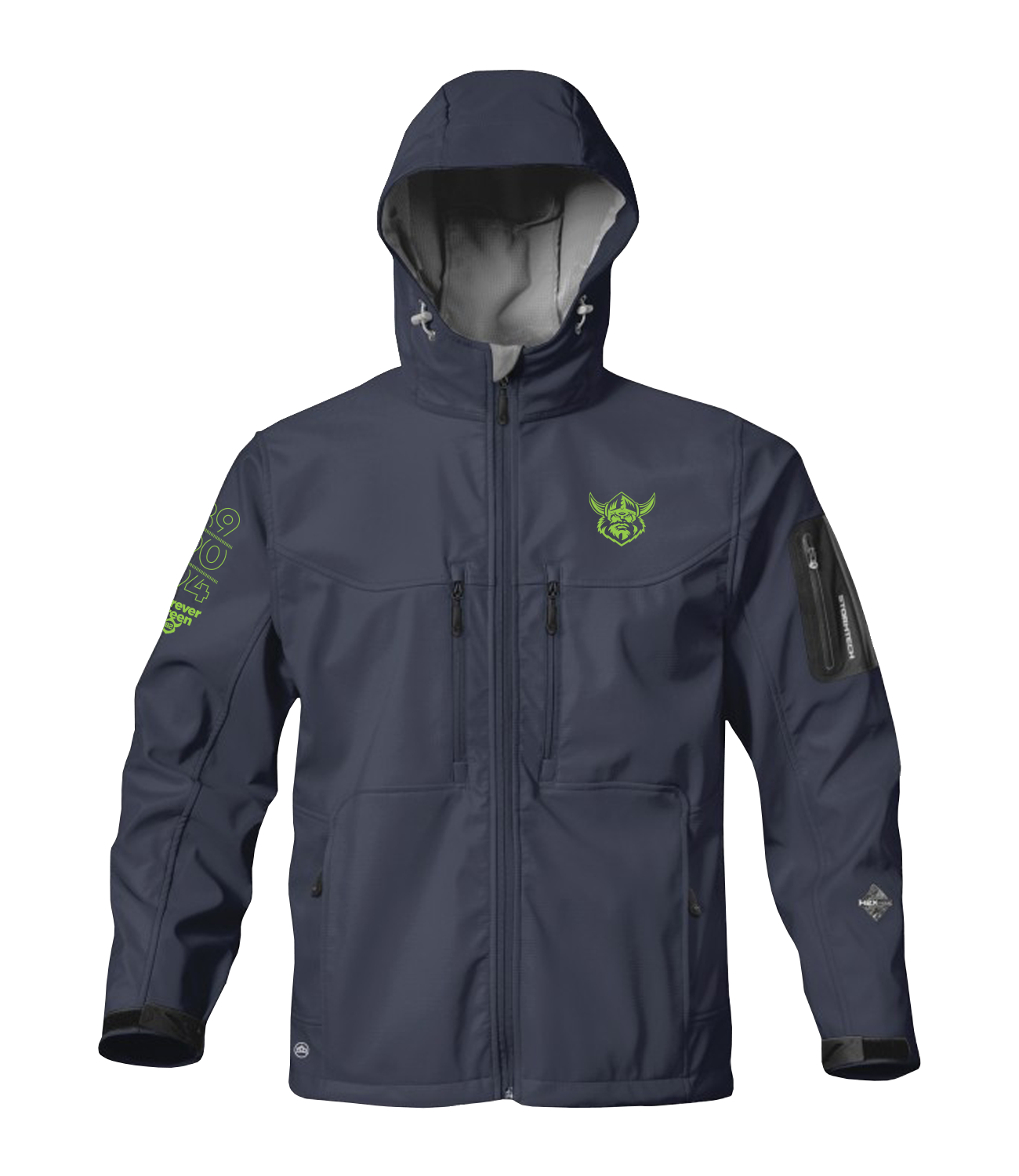 2017 Raiders Stormtech H2XTREME Jacket / ADULT