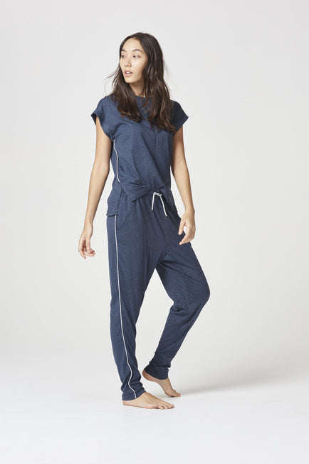 LEA PYJAMA SET MIDNIGHT MARLE