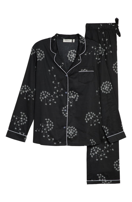 FRIDA PYJAMA SET DANDELION CHARCOAL