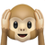 Apple's Version of Hear-No-Evil Monkey.