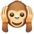 What's App Version of Hear-No-Evil Monkey.